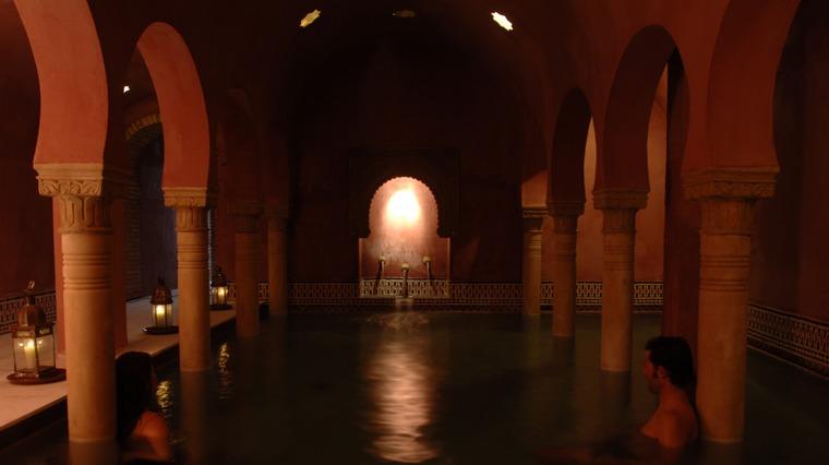 Baño Arabe Hammam Granada:Wo bist Du, wenn die Welt zusammenbricht?